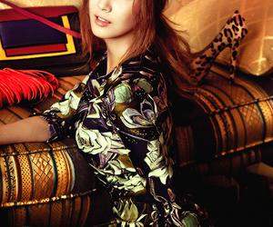 girl, hair, and idol image