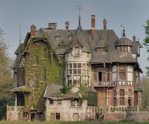 house, castle, and old image