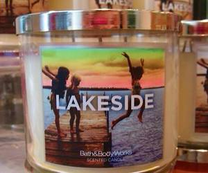 lakeside, beauty, and candle image