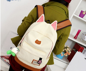 bag, cat, and ears image