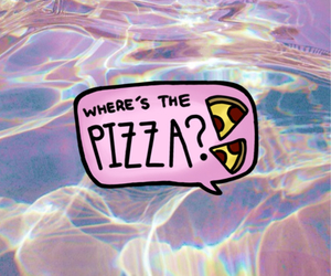 pizza and the image