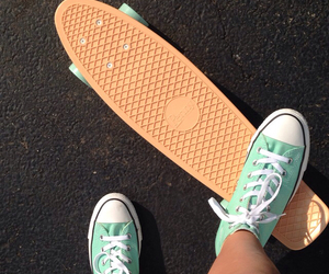 converse and penny board image