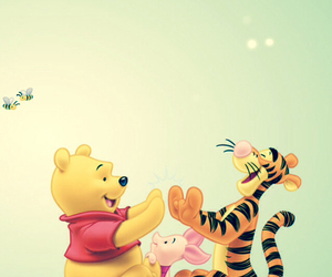 piglet, winnie the pooh, and tigger image