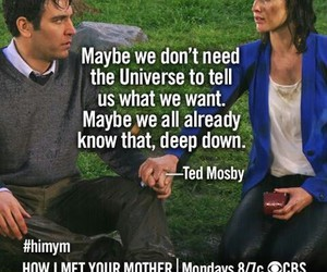 himym, quotes, and robin image