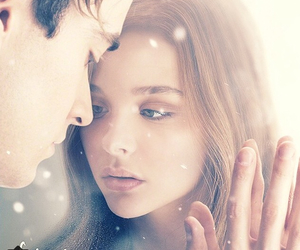 if i stay, movie, and book image