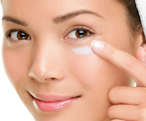 puffy eyes, eye cream, and bags under eyes image
