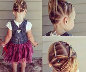 hair, baby, and hairstyle image