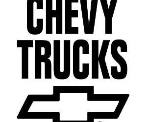 bowties, chevy, and truck image