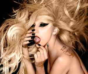 Lady gaga and the edge of glory image