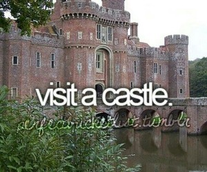 castle, travel, and bucket list image