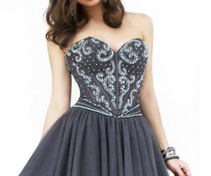 gray and 2014 dress image