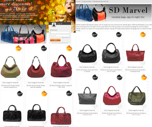 sd marvel bags and sd marvel weave handbags image