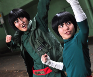 cosplay, naruto, and lee image