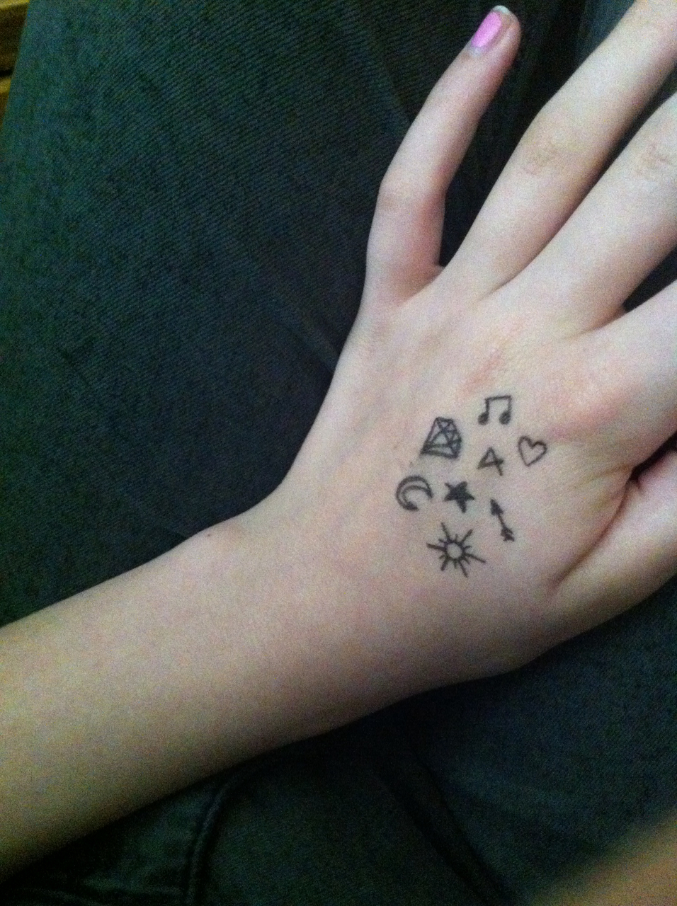 cool easy things to draw on your hand wwwpixsharkcom