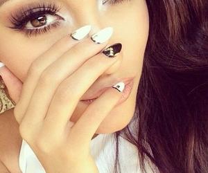 nails, make up, and beauty image