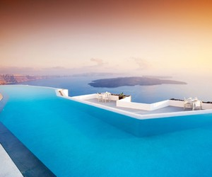 awesome, Greece, and luxury image