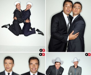 gq, jimmy fallon, and justin timberlake image