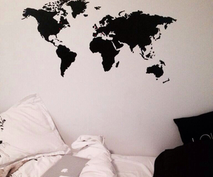 room, world, and black image