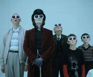 Willy Wonka, johnny depp, and charlie and the chocolate factory image