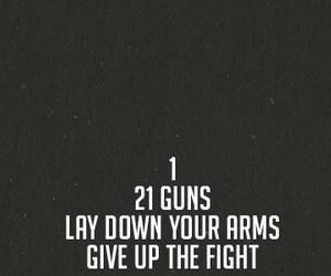 green day, 21 guns, and song image