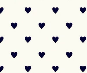 background, black, and hearts image