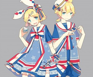 vocaloid, anime, and kagamine len image