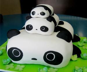 panda, cake, and food image