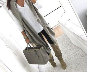 bag, women, and clothes image