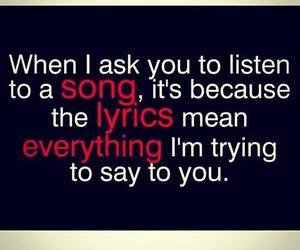 song, Lyrics, and love image