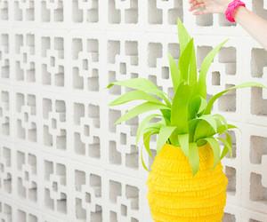 pinata, pina, and pineaple image