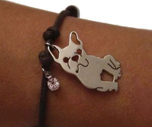 bulldog, french, and bracelet image