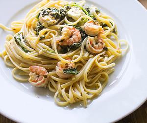 cheese, feta, and pasta image