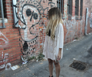 girl and ombre hair image