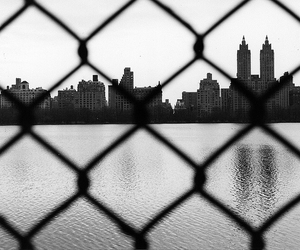 buildings, city, and fence image