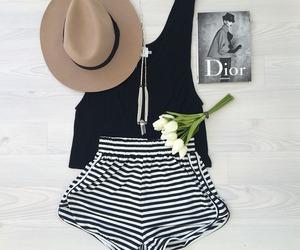 fashion, dior, and hat image