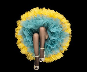 legs, shoes, and skirt image