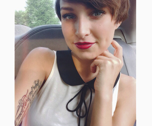 car, tattoo, and selfie image