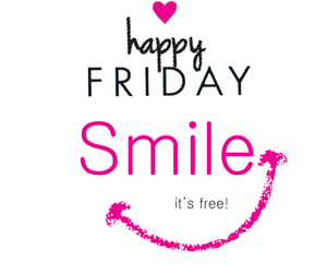 friday, pink, and happy image