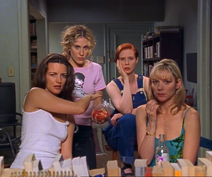 sex and the city, carrie, and miranda image