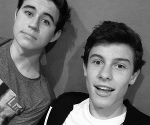 shawn mendes, nash grier, and magcon image