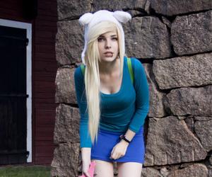 cosplay and adventure time image
