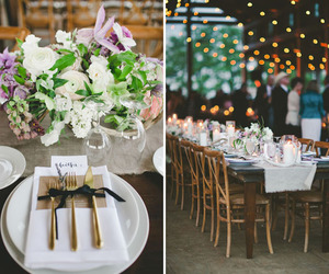vintage, bohemian wedding, and country reception image
