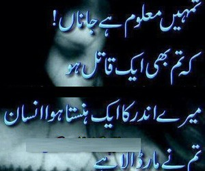 42 Images About Urdu Poetry On We Heart It See More About