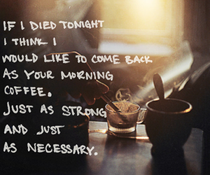 strong, coffee, and morning image