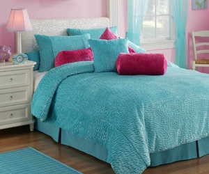 cute bedrooms, cute bed linen, and cute bed covers image