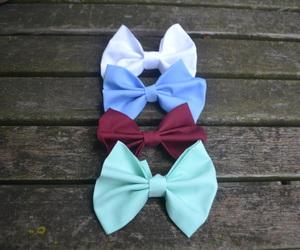 bows, handmade, and tumblr image