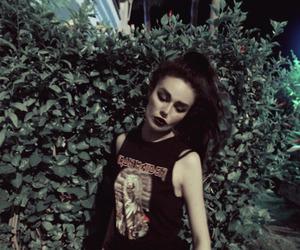 girl, grunge, and iron maiden image