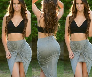 skirt, dress, and mystyle image