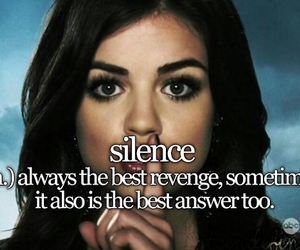 silence, tumblr, and teen definitions image