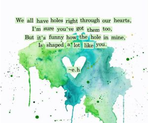 quote, poem, and love image